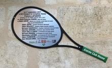 Inauguration tennis